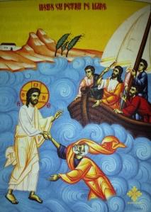 Iisus cu Petru pe mare - unsufletortodox